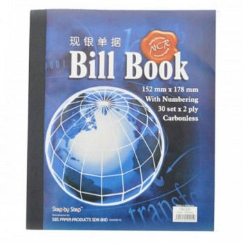 NCR Bill Book 30set x 2PLY carbonless