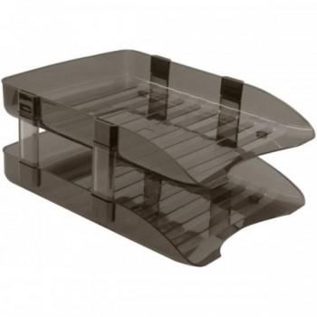 Plastic Desk Document Tray - 2 Tier NISO-TIER2 (Item No: B11-04) A1R5B113