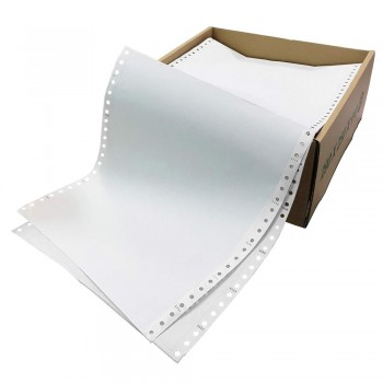 """Computer Form 9.5"""" x 11"""" 2 Ply NCR 500 Fans"""