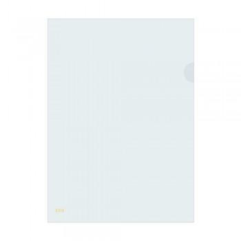 L Shape Transparent (White) Document Holder File A4 Size