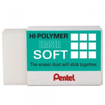 Pentel ZES-08 Hi-Polymer Eraser Soft - M