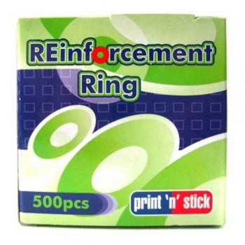 Print n Stick Reinforcement Ring - 500 pieces (Item No: B11-20) A1R3B101