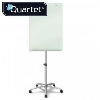 Quartet Infinity Glass Magnetic Flipchart Easel