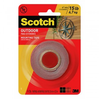 Scotch Outdoor Mounting Tape 3M 411P 25.4mm X 1.52m