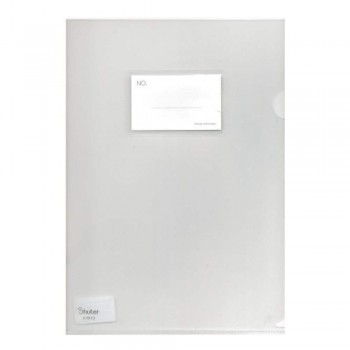 Shuter A1813 L-Shape Document Holder with - A4 - White or Clear(Item No: B11-03) A1R3B158