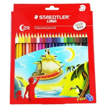 STAEDTLER Luna Permanent - coloured Pencils 24L(Item No: B05-54) A1R2B182