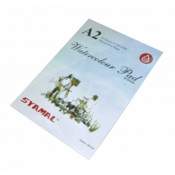 Syamal Syamatra A2 Drawing Block - 10 Sheets 200gsm (Item No: B05-78) A1R2B206