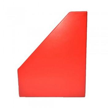 "3"" PVC Magazine Box File - Red"