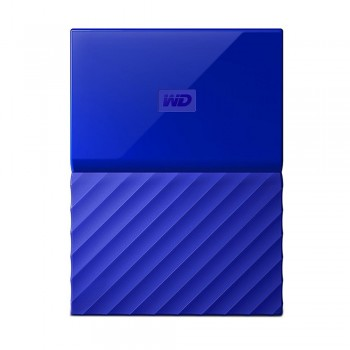 WD Western Digital My Passport USB 3.0 Hard Drive - 1TB Blue (WDBYNN0010BBL)