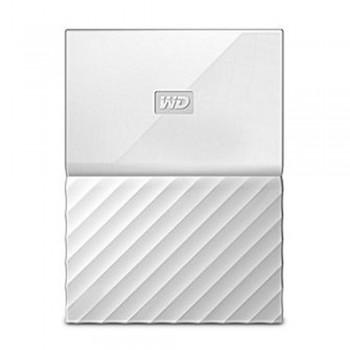 WD Western Digital My Passport USB 3.0 Hard Drive - 2TB White (WDBYFT0020BWT)