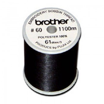 Brother EBT-CEBN Embroidery Bobbin Black Thread