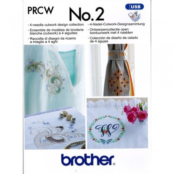 Brother PRCWUSB2AP Cutwork Design Collection for PR 2