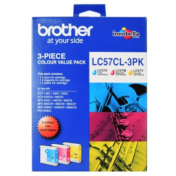 Brother LC-57 Color Value Pack