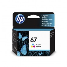 HP 67 Tri-color Ink Cartridge (3YM55AA)