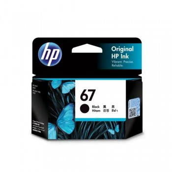 HP 67 Black Ink Cartridge (3YM56AA)