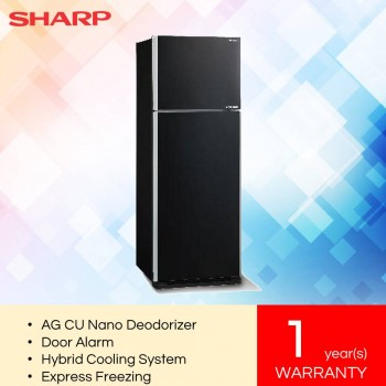 Sharp SJE538MK J-Tech Inverter Pelican 2 Door Refrigerator (480L)