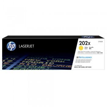 HP 202X Yellow LaserJet Toner Cartridge